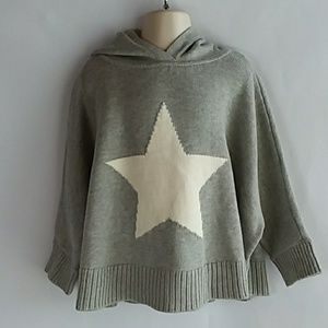 Gap Toddler Girl's Hooded Poncho Sweater